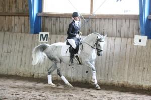 Marlies und Groczana 77 beim Turnier in Drosendorf